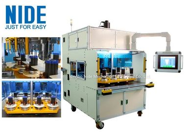 Eight working station coil winding machine for middle and big size stator
