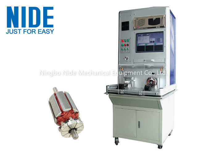 Insulated Automatic Armature Testing Machine Cold Resistance 500va Capacity