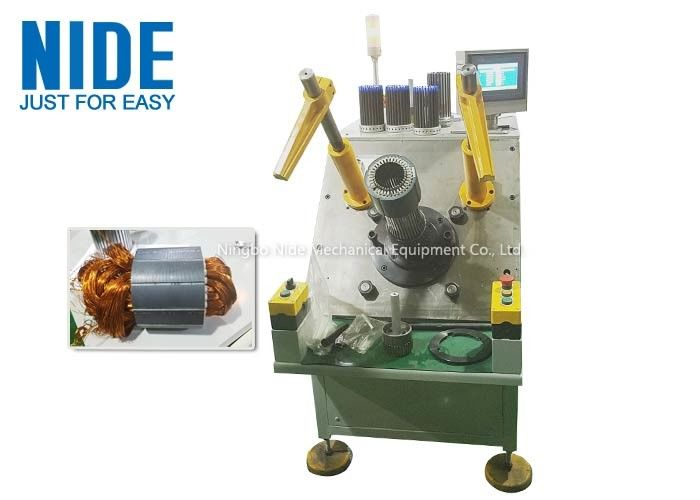 Motor Stator Coil Insertion Machine Semi - Automatic For Washing Machine