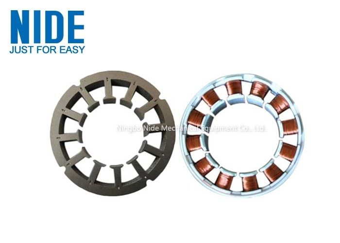 Fully Auto BLDC Brushless Motor Stator Winding Line With Needle Winding