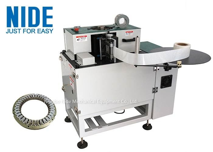 High Speed Stator Insulation Paper Inserting Machine For Gasoline Generator
