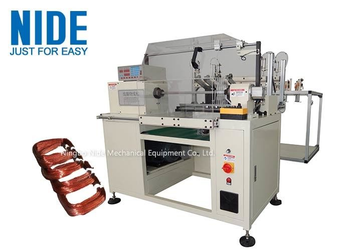 NIDE Stator Winding Machine Full Automatic Copper Coil Winding Machine For Multiple Wire