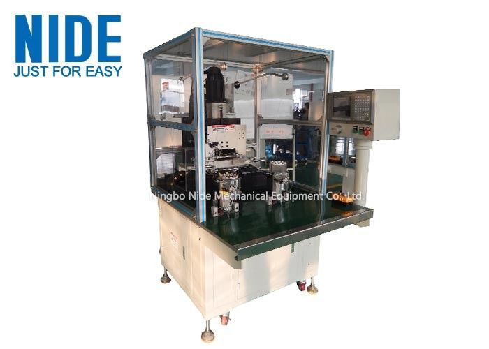 Automatic Needle Winding Machine for BLDC Stator , Two Working Stations