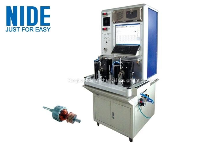 High efficiency Motor Testing Equipment , Armature Tester For Stater Motor