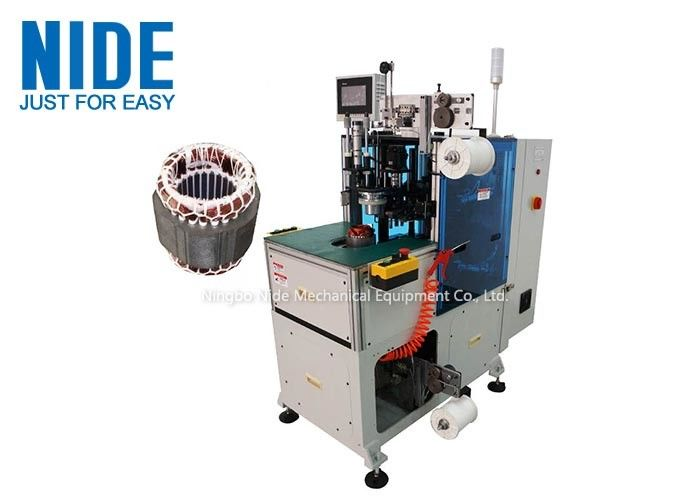 Induction Stator Coil End Automatic Winding Lacing Machine Simple Operation