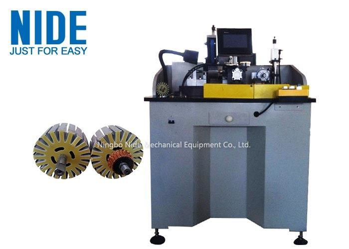 400KG Armature Commutator Turning Machine With Rotary Brushing Station