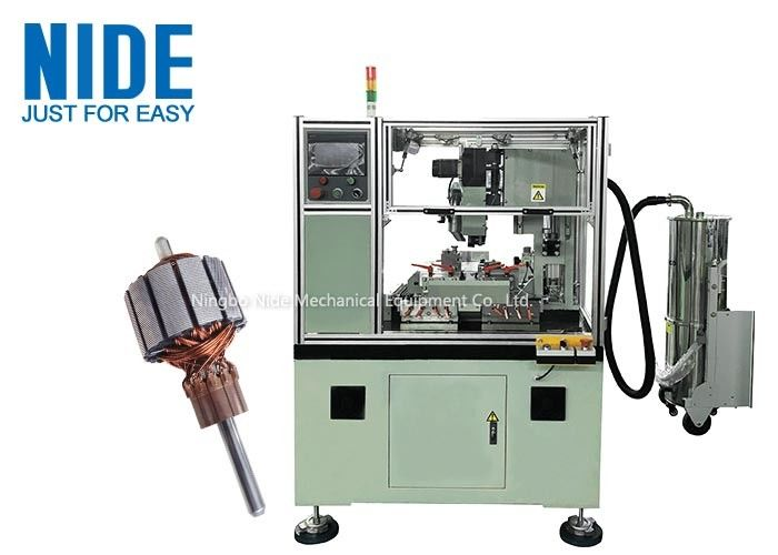 Efficient Armature Commutator Turning Machine 2.2KW Motor Power PLC Control