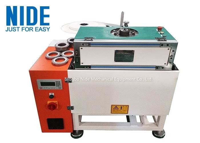 Slot Insulation Motor Stator Paper Inserting Machine